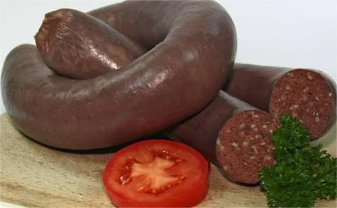 Кровяная колбаса рецепт фото